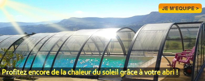 Kitabripiscine sp cialiste des abris de piscine et abris for Abri soleil club piscine