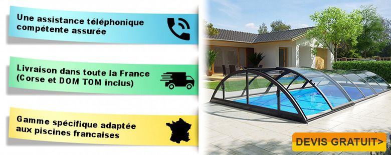 Kitabripiscine sp cialiste des abris de piscine et abris spa en kit for Piscine 3x6 prix