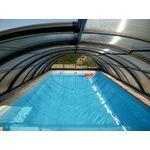 """Abri de piscine en kit : PYLA C """"Mix"""" Gris Clair"""