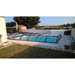 Abri piscine Biarritz 6x3