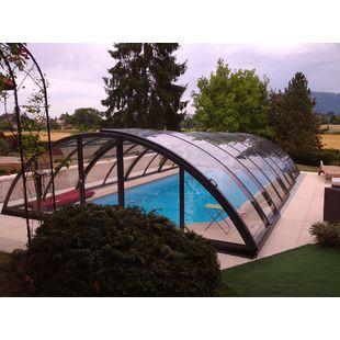 Abris de piscine semi hauts et hauts en kit kitabripiscine for Abri piscine semi haut
