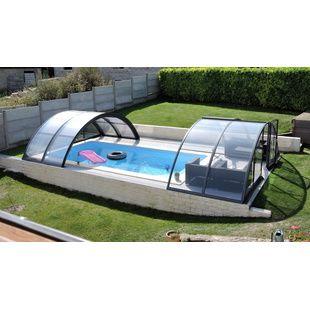 Abris de piscine hauts de 4x8 m kitabripiscine for Abris de piscine 4x8
