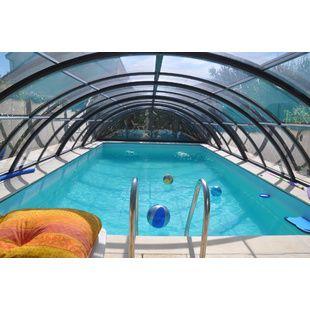 Abris de piscine hauts de 5x10 m kitabripiscine for Prix piscine 5x10
