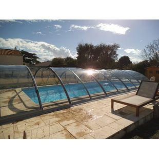 Abris de piscine semi hauts et hauts en kit kitabripiscine for Abri piscine klasik c