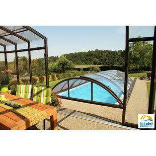 abris de piscine hauts de 4x8 m kitabripiscine. Black Bedroom Furniture Sets. Home Design Ideas