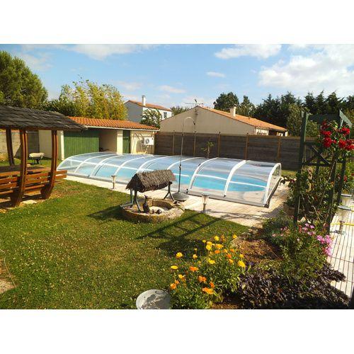 Abri de piscine bas biarritz b kitabripiscine for Abris bas piscine