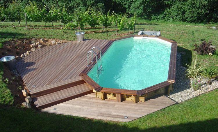 Les piscines hors-sol et semi-enterrées