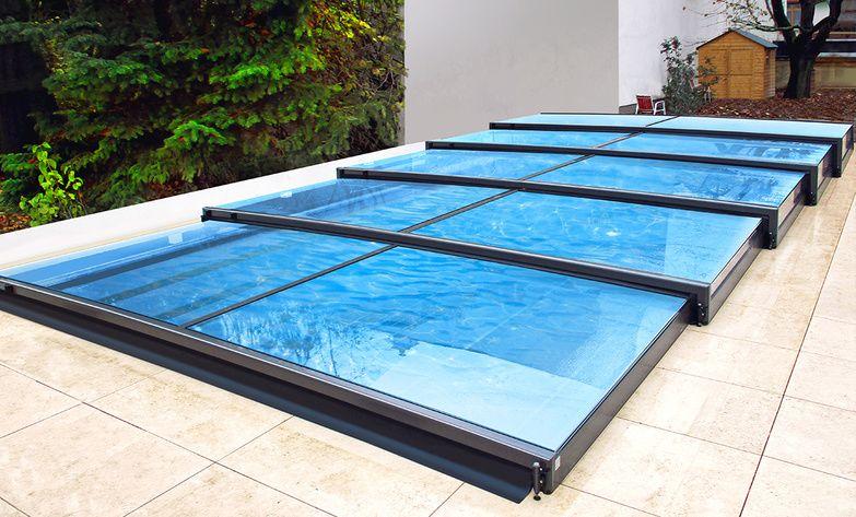 Les abris de piscine plats