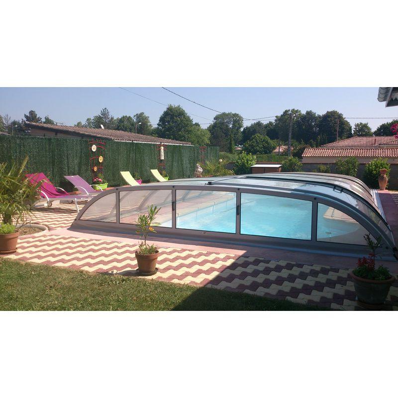 biarritz b mix anthracite destockage abris de piscine kitabripiscine kitabripiscine. Black Bedroom Furniture Sets. Home Design Ideas