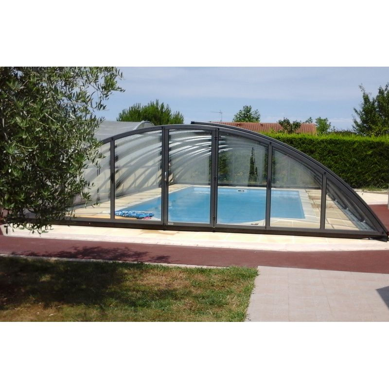 Abri de piscine semi haut pyla d kitabripiscine for Abris piscine uv
