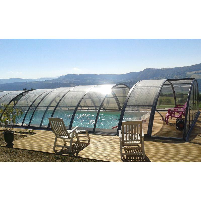 abri de piscine semi haut pyla c kitabripiscine. Black Bedroom Furniture Sets. Home Design Ideas