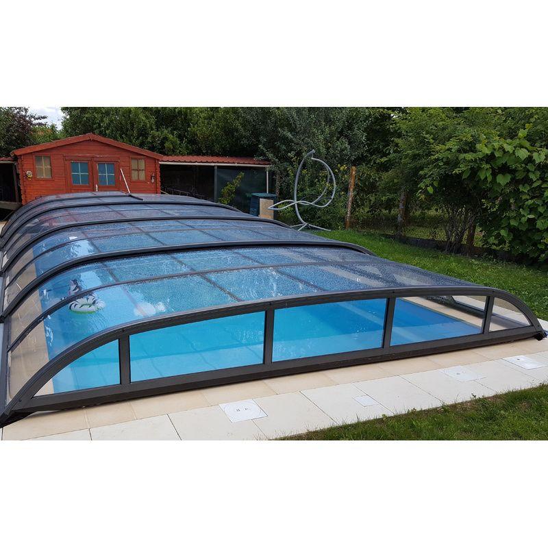 abri de piscine bas biarritz b kitabripiscine. Black Bedroom Furniture Sets. Home Design Ideas