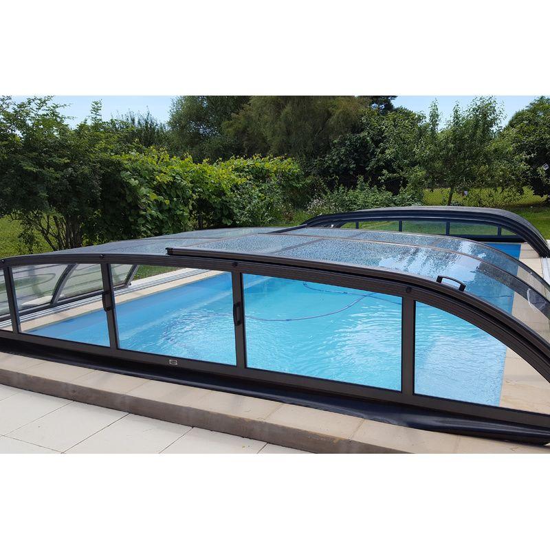 Abri de piscine bas biarritz b kitabripiscine for Abris de piscine bas