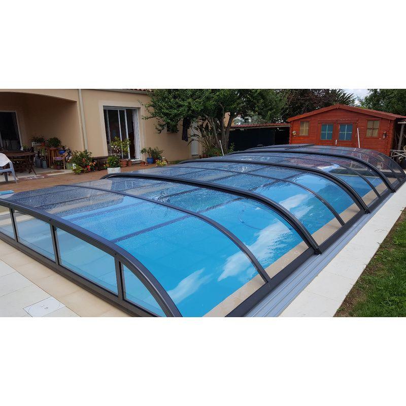 abri piscine textile