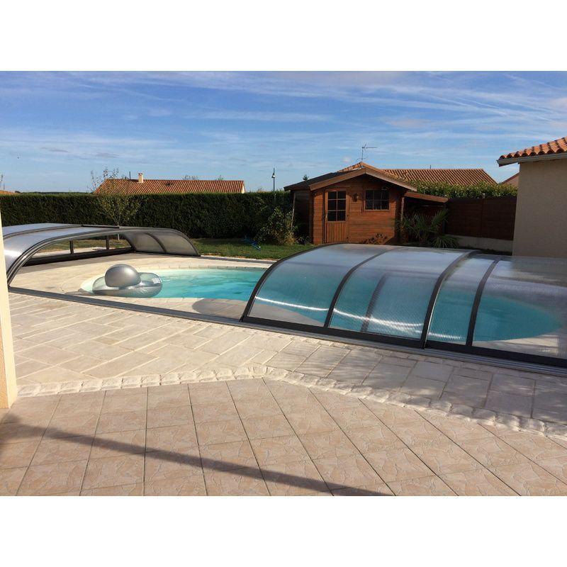 Abri de piscine bas biarritz b kitabripiscine for Piscine biarritz