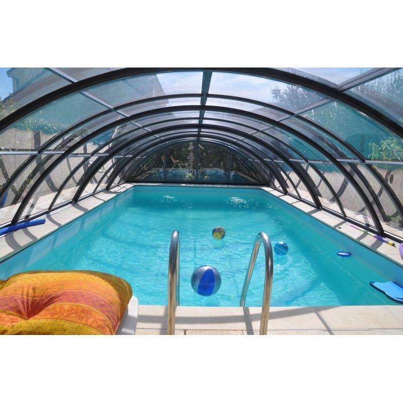 Abri de piscine semi haut pyla d kitabripiscine for Abri de piscine haut en kit