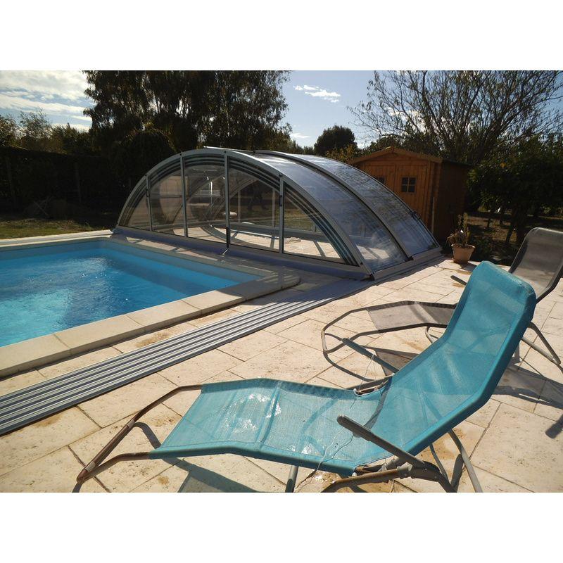 KLASIK C - Abris de piscine hauts de 4,5x10m - Kitabripiscine - Kitabripiscine - Spécialiste des ...