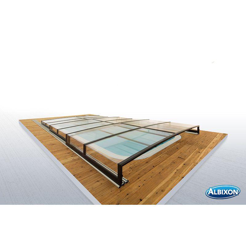 Abri de piscine bas casa infinity b kitabripiscine - Abri piscine en kit ...