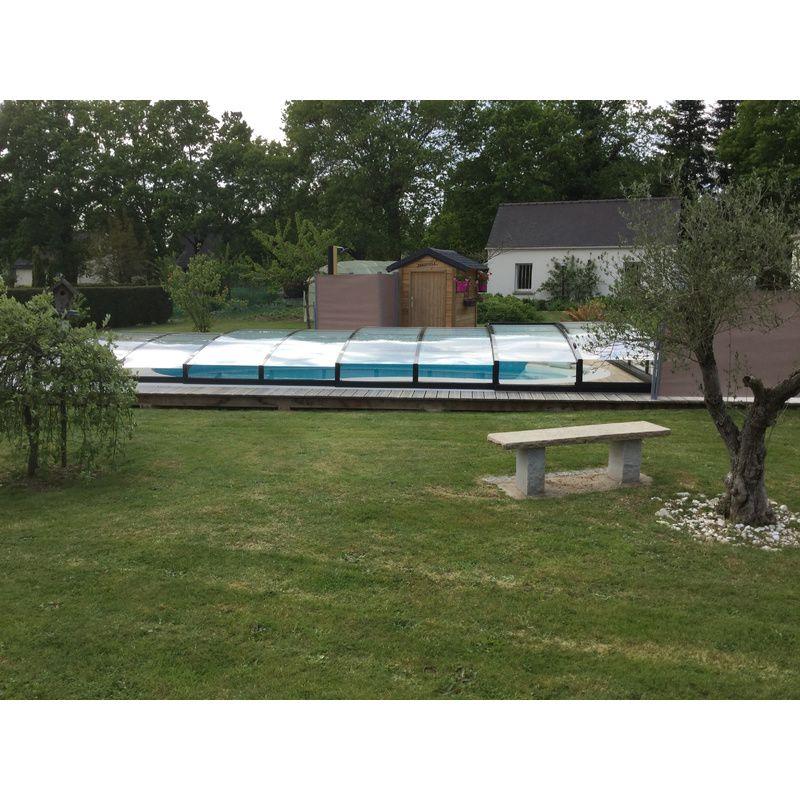 Abri de piscine bas vend me b kitabripiscine for Abri de piscine bas