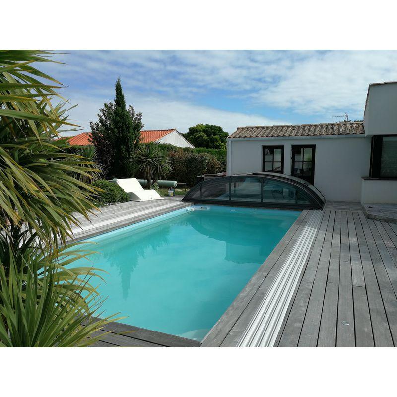 Carnac b pour une piscine de 3 5 x 7 m kitabripiscine sp cialiste des abris de piscine et - Abri piscine en kit ...