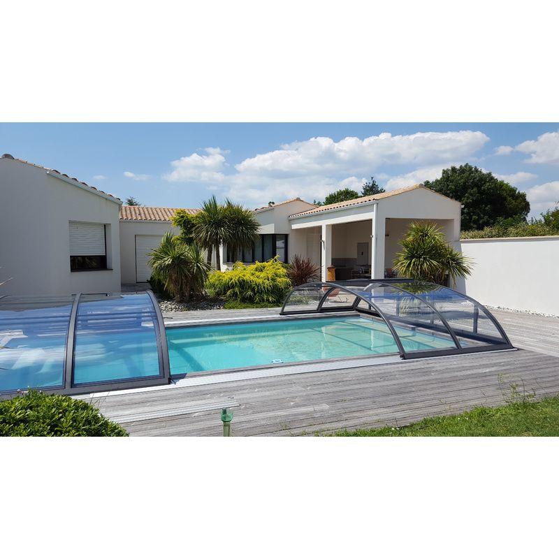 carnac b pour une piscine de 3 5 x 7 m kitabripiscine sp cialiste des abris de piscine et. Black Bedroom Furniture Sets. Home Design Ideas