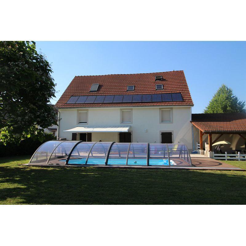 klasik b pour une piscine de 3 5 x 7 m kitabripiscine sp cialiste des abris de piscine et. Black Bedroom Furniture Sets. Home Design Ideas