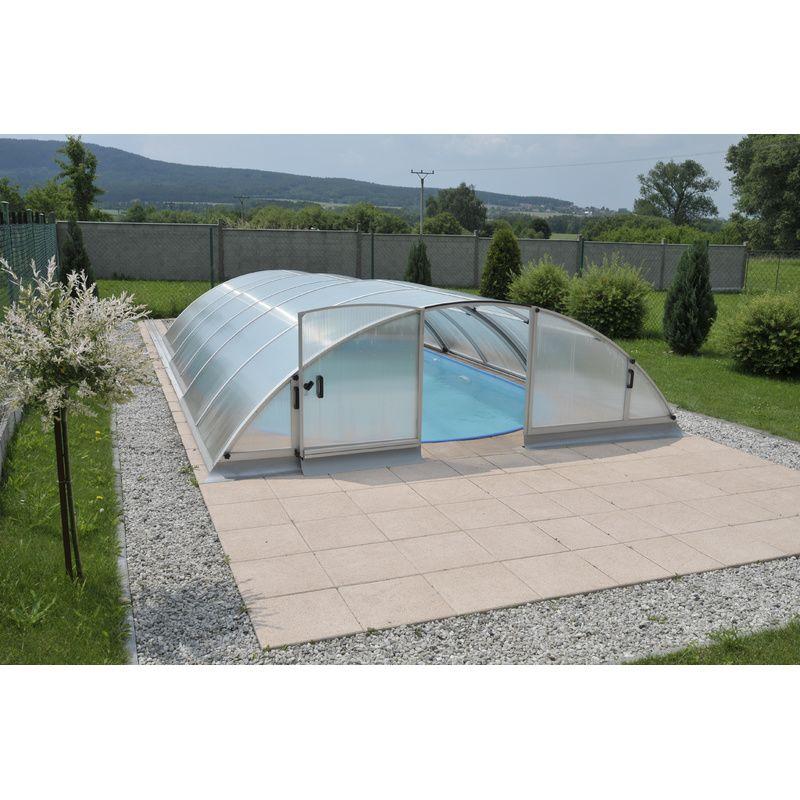 abri de piscine semi haut pyla a kitabripiscine. Black Bedroom Furniture Sets. Home Design Ideas