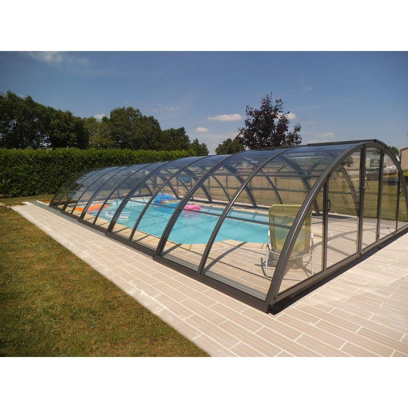 Abri de piscine semi haut pyla c kitabripiscine for Kit abri de piscine