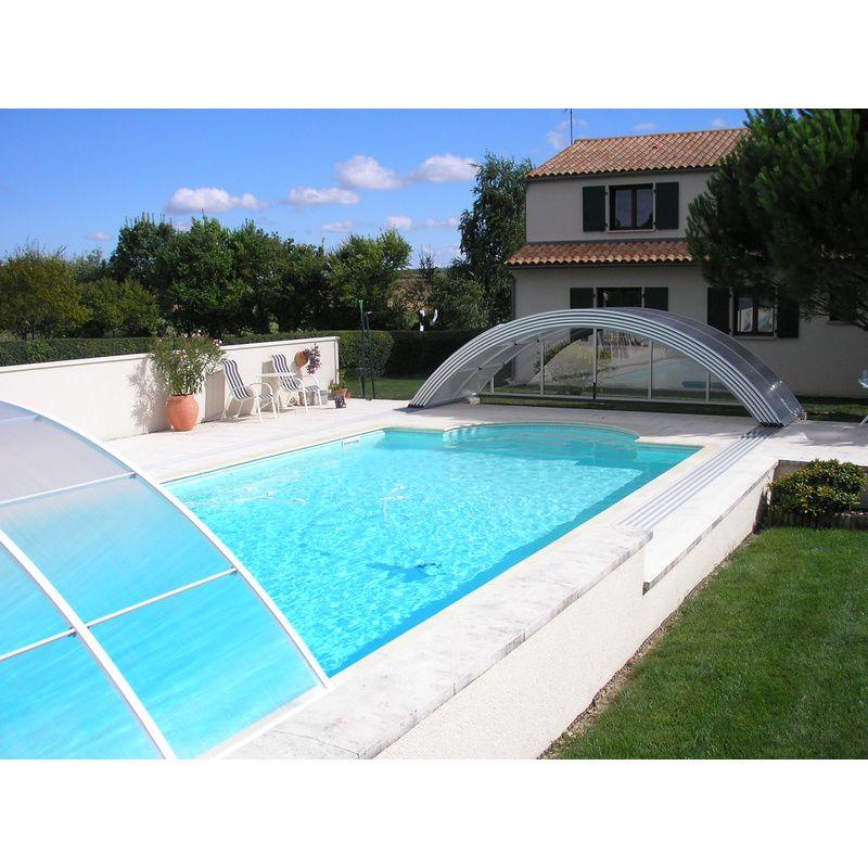 Abri de piscine semi haut pyla d kitabripiscine for Abri de piscine semi haut