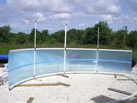 Assemblage de la structure de l'abri de piscine en kit